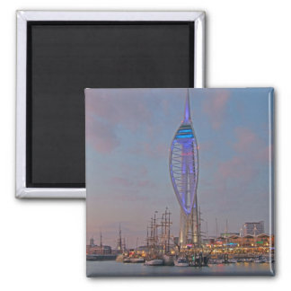 Portsmouth, Hampshire, England 2 Inch Square Magnet