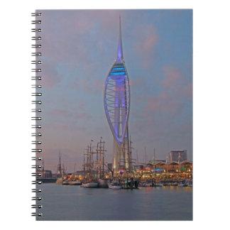 Portsmouth, Hampshire, England Notebook