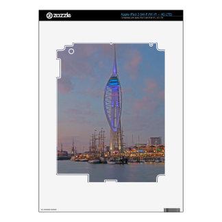 Portsmouth, Hampshire, England iPad 3 Decal