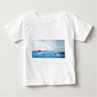 Portsmouth Harbor Primitive.jpg Baby T-Shirt