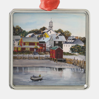 Portsmouth Harbour, New Hampshire Metal Ornament