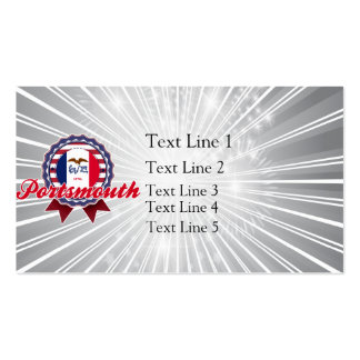 Portsmouth, IA Double-Sided Standard Business Cards (Pack Of 100)