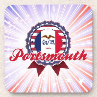Portsmouth IA Drink Coasters