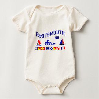 Portsmouth, NH Baby Bodysuit