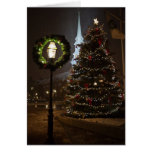 Portsmouth NH Christmas Greeting Card