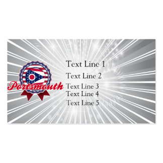 Portsmouth, OH Double-Sided Standard Business Cards (Pack Of 100)
