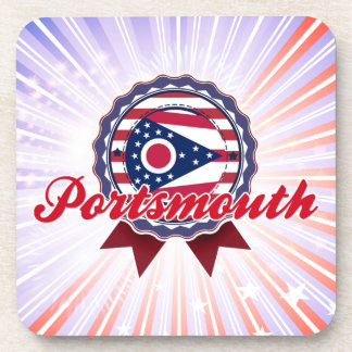 Portsmouth OH Drink Coaster