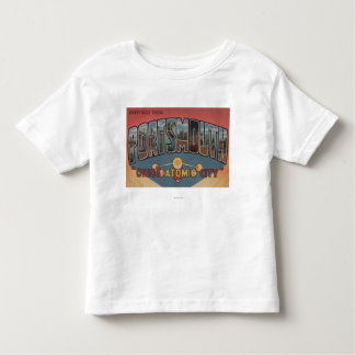 Portsmouth, Ohio - Large Letter Scenes Shirt
