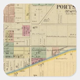 Portsmouth, Ohio Square Sticker