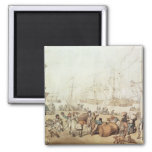 Portsmouth Point, 1811 2 Inch Square Magnet