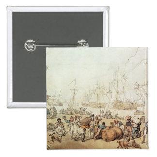 Portsmouth Point, 1811 Button