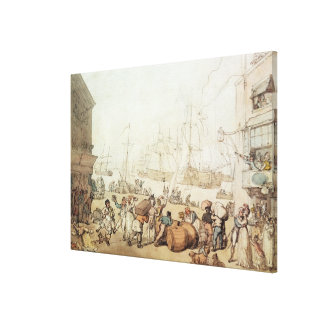 Portsmouth Point, 1811 Gallery Wrap Canvas
