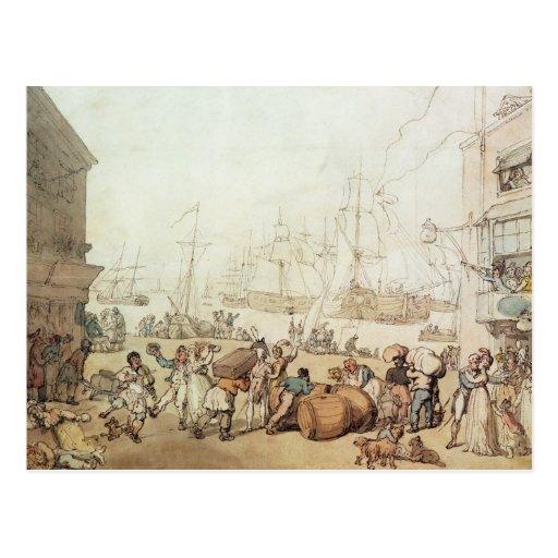 Portsmouth Point, 1811 Postcard