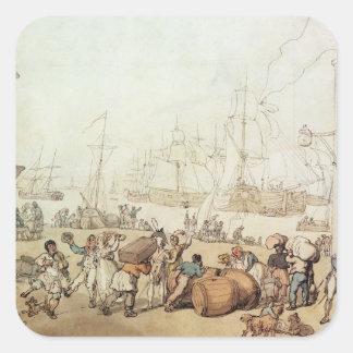 Portsmouth Point, 1811 Square Sticker
