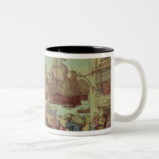 Portsmouth Point, 1811 Two-Tone Coffee Mug