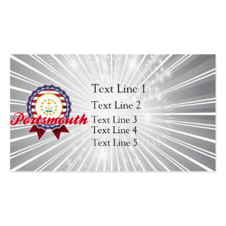 Portsmouth, RI Double-Sided Standard Business Cards (Pack Of 100)