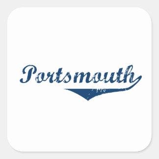 Portsmouth Square Sticker
