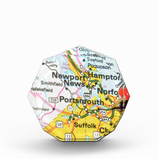 Portsmouth, Virginia Acrylic Award