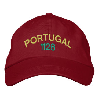 Portugal 1128 Embroidered Hat