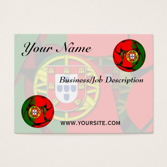 Portugal #1 business card