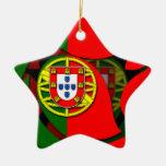 Portugal #1 christmas tree ornaments