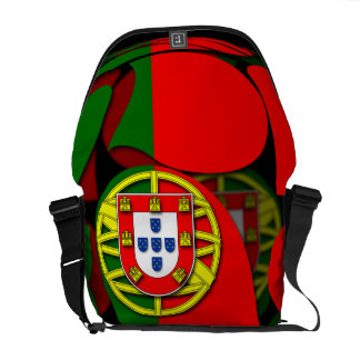 Portugal #1 messenger bag