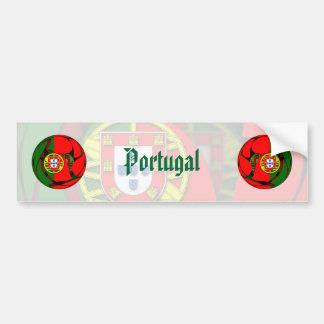 Portugal #1 pegatina para auto