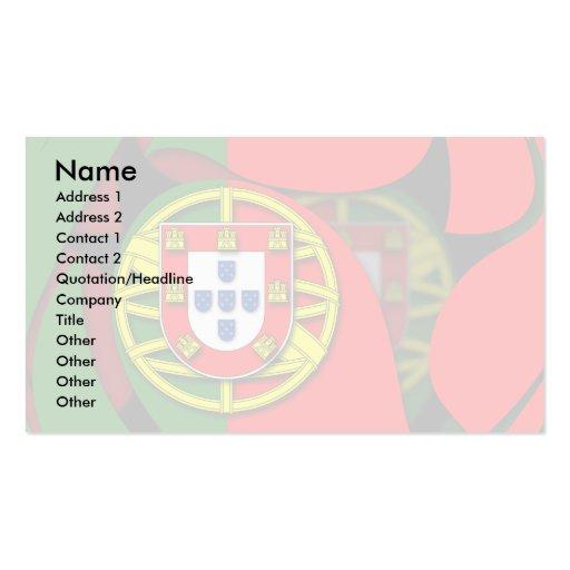 Portugal #1 tarjetas de visita