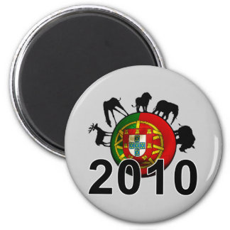 Portugal  2010 2 inch round magnet