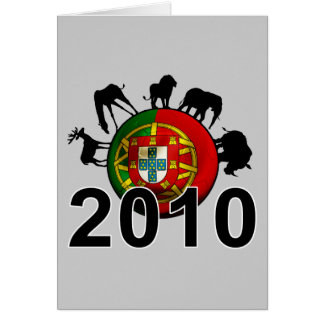 Portugal  2010 card