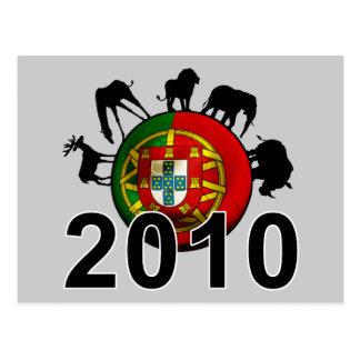 Portugal  2010 postcard