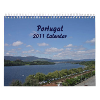 Portugal 2011 customized calendar
