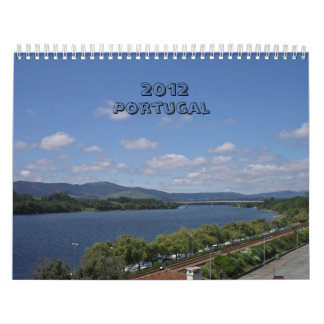 Portugal 2012 calendarios de pared