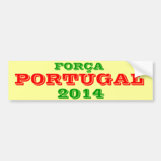 Portugal 2014 Bumper Sticker