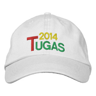 PORTUGAL 2014 TUGAS HAT / Chapeu Tugas Embroidered Hat