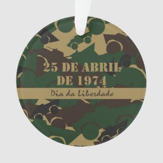 Portugal, 25 Abril, Freedom Day Ornament