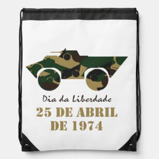 Portugal, 25 de Abril - Freedom Day Drawstring Backpack