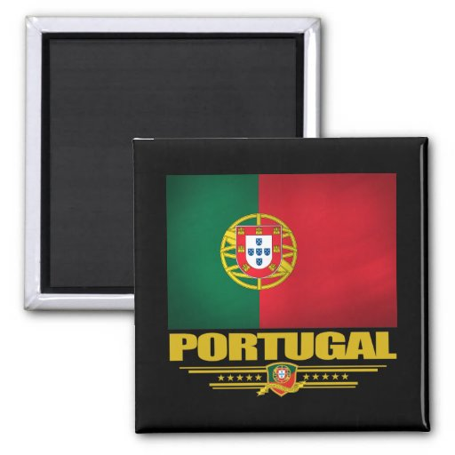 Portugal 2 2 inch square magnet