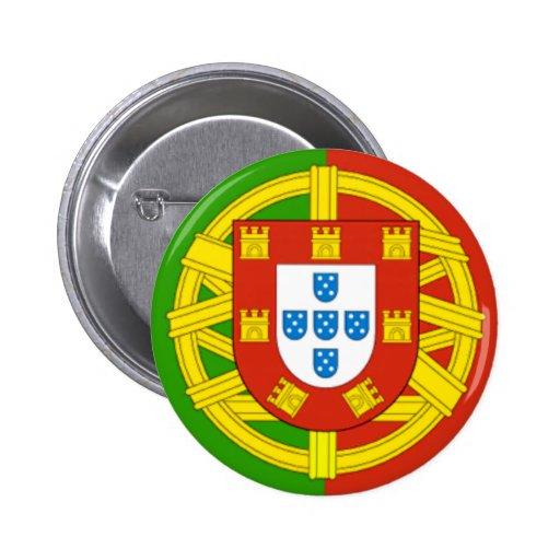 Portugal 2 Inch Round Button
