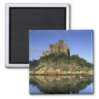 Portugal, Almourol. Castelo do Almourol built Magnet