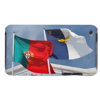 Portugal and Azores flags iPod Touch Case