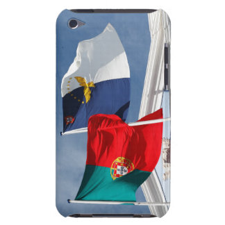 Portugal and Azores flags Barely There iPod Cases
