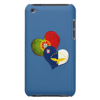 Portugal and Azores hearts Case-Mate iPod Touch Case