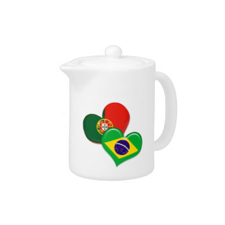 Portugal and Brazil hearts