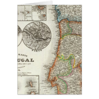 Portugal and Cape Verde Islands Card