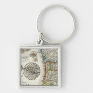 Portugal and Cape Verde Islands Keychain