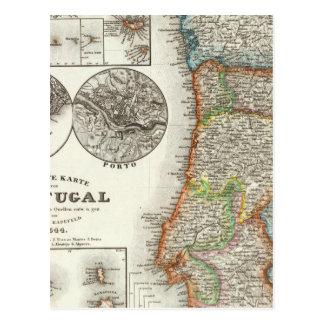 Portugal and Cape Verde Islands Postcard