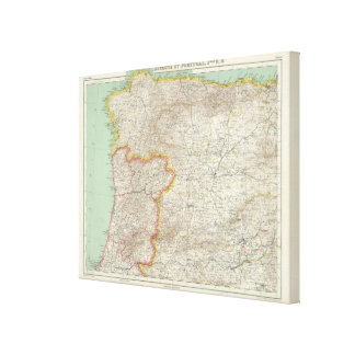 Portugal and Spain Canvas Print