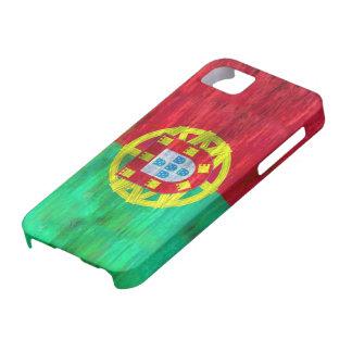 Portugal apenó la bandera portuguesa iPhone 5 fundas