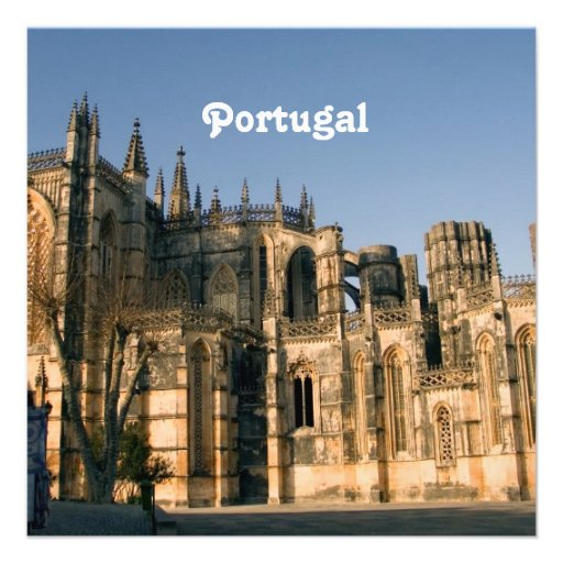 Portugal Architecture Custom Announcement